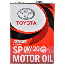 Моторное масло Toyota Motor Oil SP 0W-20 4 литра.