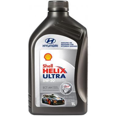 Моторное масло Shell Helix Ultra ECT C3 AH Hundai 5W-30 1 литр.