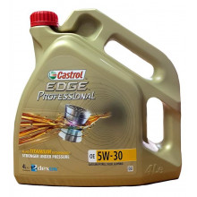 Моторное масло Castrol Edge Professional A5 5W-30 (Land Rover) 4 литра.