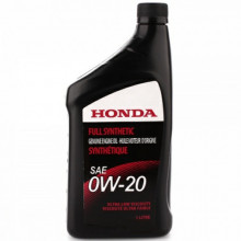 Моторное масло Honda Full Synthetic 0W-20 (Канада) 1 литр.