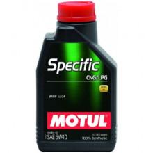 Моторное масло MOTUL Specific CNG/LPG 5W-40 1 литр.