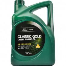 Моторное масло Hyundai Kia Classic Gold Diesel 10W-30 6 литров.