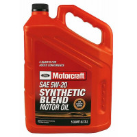 Моторное масло Ford Motorcraft Synthetic Blend 5W-20 4,73 литра.