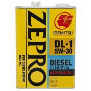 Моторное масло Idemitsu ZEPRO Diesel DL-1 5W-30 4 литра.