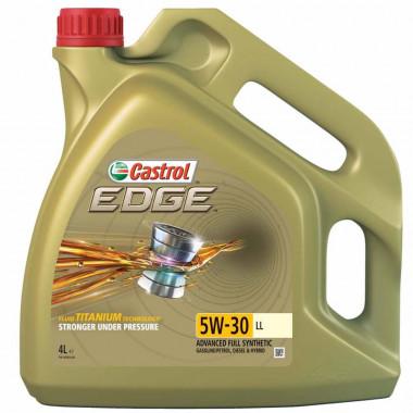 Моторное масло Castrol EDGE TITANIUM 5W-30 LL 4 литра.