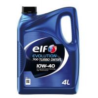 Моторное масло Elf Evolution 700 Turbo Diesel 10W-40 4 литра.