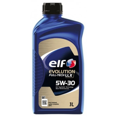 Моторное масло Elf Evolution FullTech LLX 5W-30 1 литр.