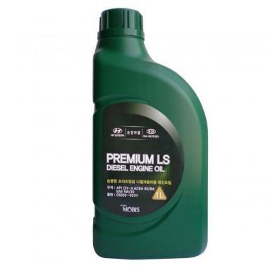 Моторное масло Hyundai Kia 5W-30 Premium LS Diesel 1 литр.