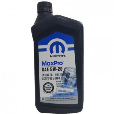 Моторное масло Mopar 5W-20 0,946 литра. (68218890AC)