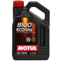 Моторное масло MOTUL 8100 Eco-lite 5W-30 5 литров.