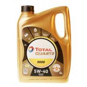 Моторное масло Total Quartz 9000 5W-40 4 литра.
