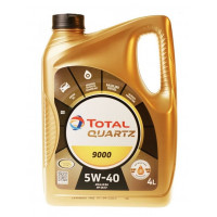 Моторное масло Total Quartz 9000 5W-40 5 литров.