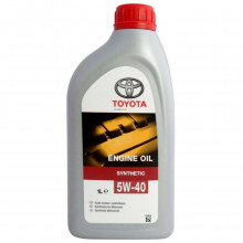 Моторное масло Toyota Syntetic 5W-40 1 литр.