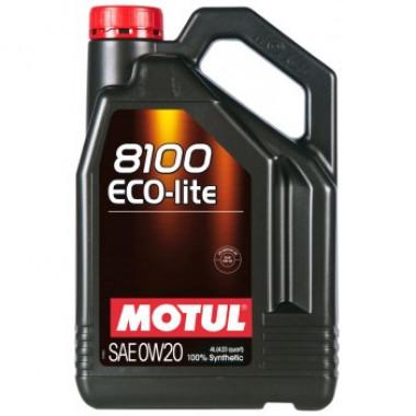Моторное масло MOTUL 8100 Eco-lite 0W-20 4 литра.