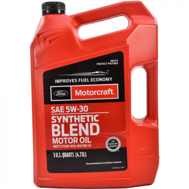 Моторное масло Ford Motorcraft Synthetic Blend 5W-30 4,73 литра.
