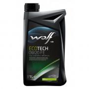 Моторное масло Wolf ECOTECH 0W-20 D1 FE 1 литр.
