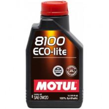 Моторное масло MOTUL 8100 Eco-lite 0W-20 1 литр.