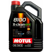 Моторное масло MOTUL 8100 X-CLEAN EFE 5W-30 5 литров.