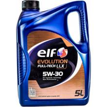 Моторное масло Elf Evolution FullTech LLX 5W-30 5 литров.