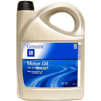 Моторное масло GM Dexos 1 5W-30 5 литров.