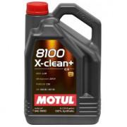 Моторное масло MOTUL 8100 X-clean+ 5W-30 5 литров.