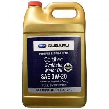 Моторное масло Subaru 0W-20 3,78 литра.
