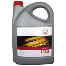 Моторное масло Toyota Syntetic 5W-40 5 литров.