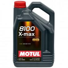 Моторное масло MOTUL 8100 X-max 0W-40 5 литров.
