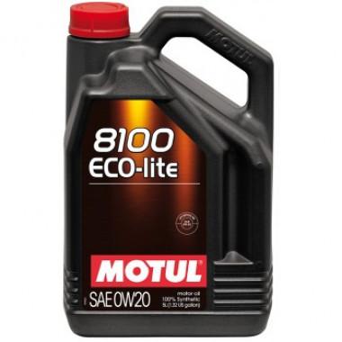 Моторное масло MOTUL 8100 Eco-lite 0W-20 5 литров.