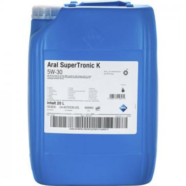 Моторное масло Aral SuperTronic K 5W-30 20 литров.