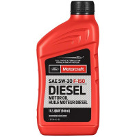Моторное масло Ford Motorcraft Full Synthetic Diesel F-150 5W-30 0,946 литра.