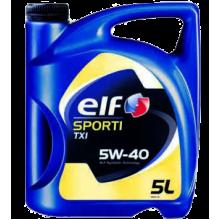 Моторное масло Elf Sporti TXI 5W-40 5 литров.