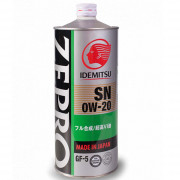 Моторное масло Idemitsu ZEPRO 0W-20 SN/GF-5 1 литр.
