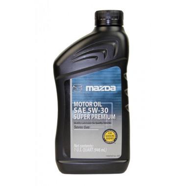 Моторное масло Mazda 5W-30 0,946 литра.