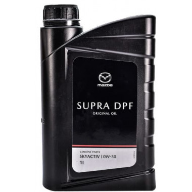 Моторное масло Mazda Original Oil Supra 0W-30 DPF 1 литр.