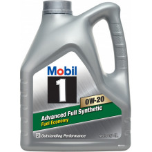 Моторное масло Mobil 1 0W-20 Advanced Fuel Economy 4 литра.