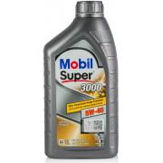 Моторное масло Mobil Super 3000 X1 5W-40 1 литр.