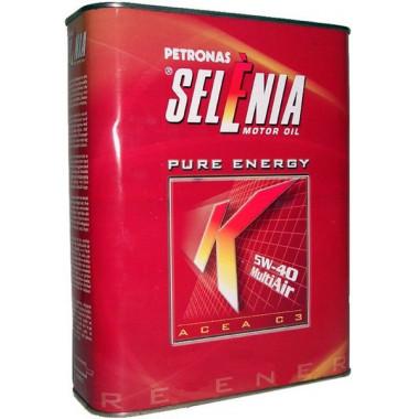 Моторное масло Petronas Selenia K Pure Energy 5W-40 2 литра.