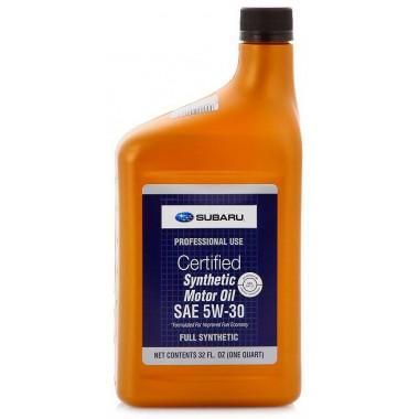 Моторное масло Subaru 5W-30 0,946 литра.