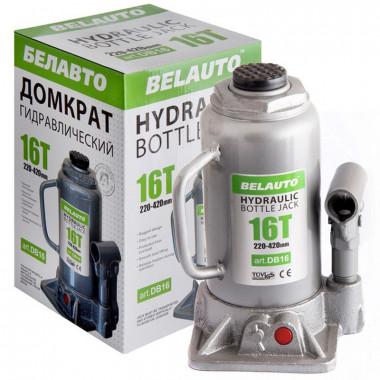 Домкрат гидравлический бутылочный БЕЛАВТО 16т. DB16