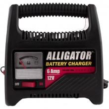 Автомобильное зарядное устройство аккумулятора 6/12В 6А ALLIGATOR AC809
