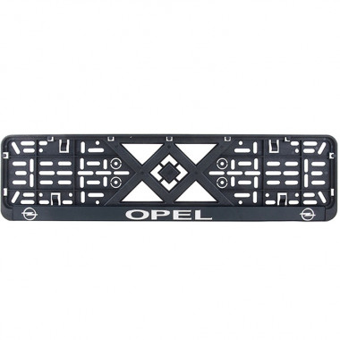 Рамка номерного знака Bi-Plast OPEL (объемные буквы) BP-279