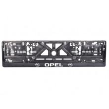 Рамка номерного знака Сarlife OPEL (объемные буквы) NH43