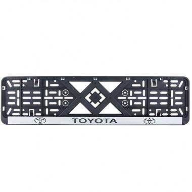 Рамка номерного знака Bi-Plast TOYOTA BP-240