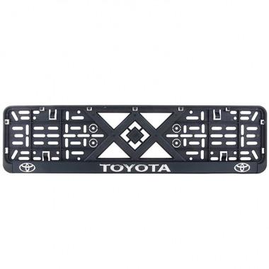 Рамка номерного знака Bi-Plast TOYOTA (объемные буквы) BP-289