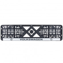 Рамка номерного знака Bi-Plast VOLKSWAGEN BP-241