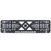 Рамка номерного знака Bi-Plast VOLKSWAGEN (объемные буквы) BP-291