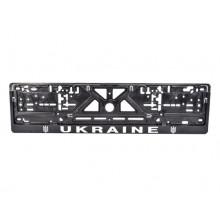 Рамка номерного знака Сarlife Україна (объемные буквы) NH63