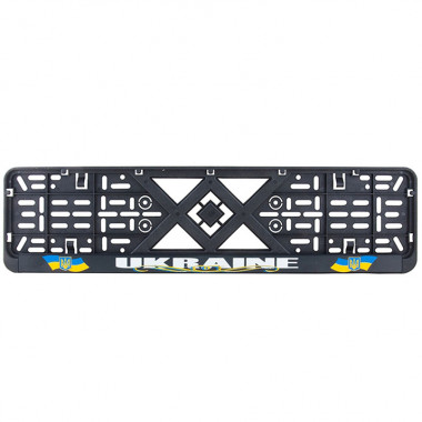 Рамка номерного знака Bi-Plast УКРАЇНА BP-250