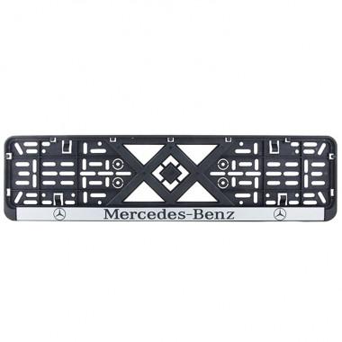 Рамка номерного знака Bi-Plast MERCEDES-BENZ BP-228